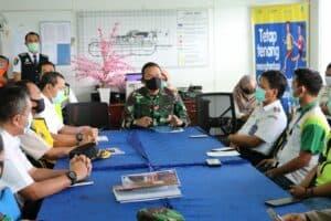 Rapat Koordinasi Penanganan COVID-19 Di Bandara Internasional SAMS Sepinggan Balikpapan