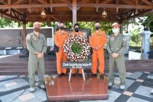 Jelang Wingday, Siswa Sekbang 97 Laksanakan Ziarah Ke Monumen Perjuangan TNI AU