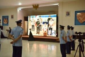 Letda Pnb Ravi Rahmat dan Letda Pnb Sandro Imeldo lulusan terbaik Sekbang 97