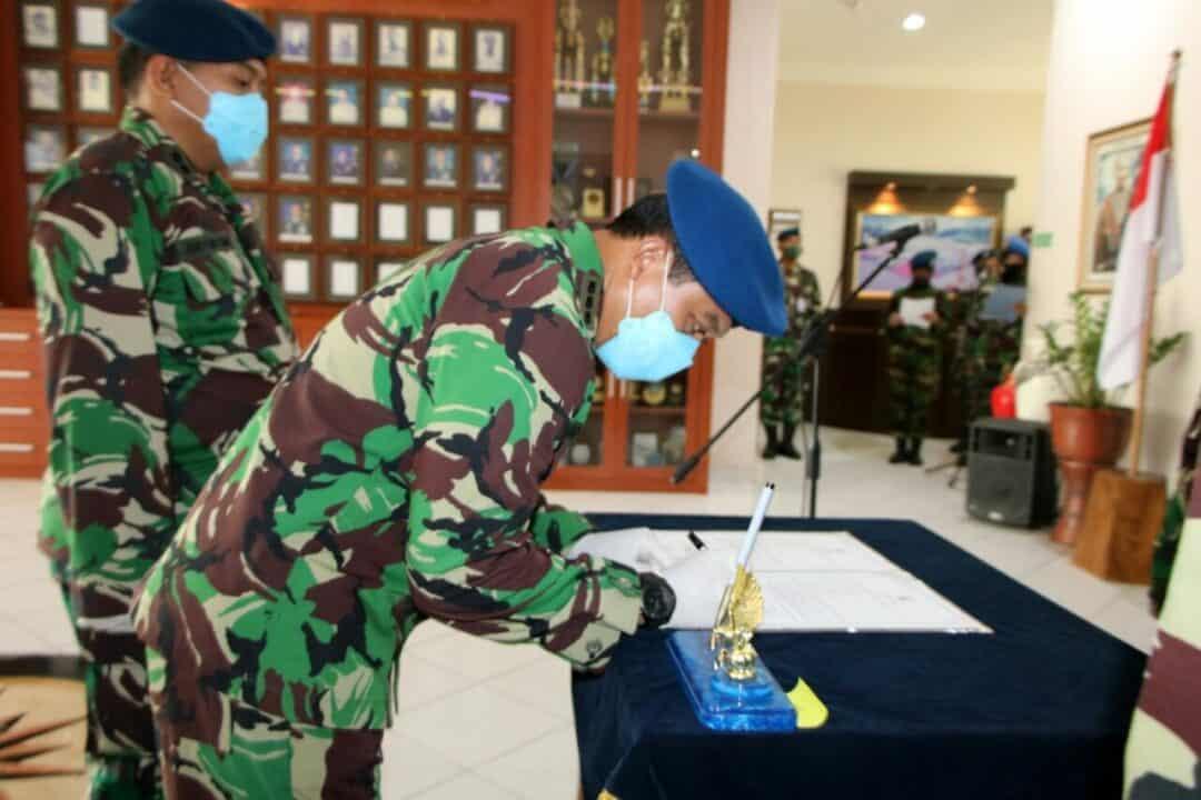 Letkol Nav Anton Bimo Risandi Jabat Kadispers Lanud Adisutjipto