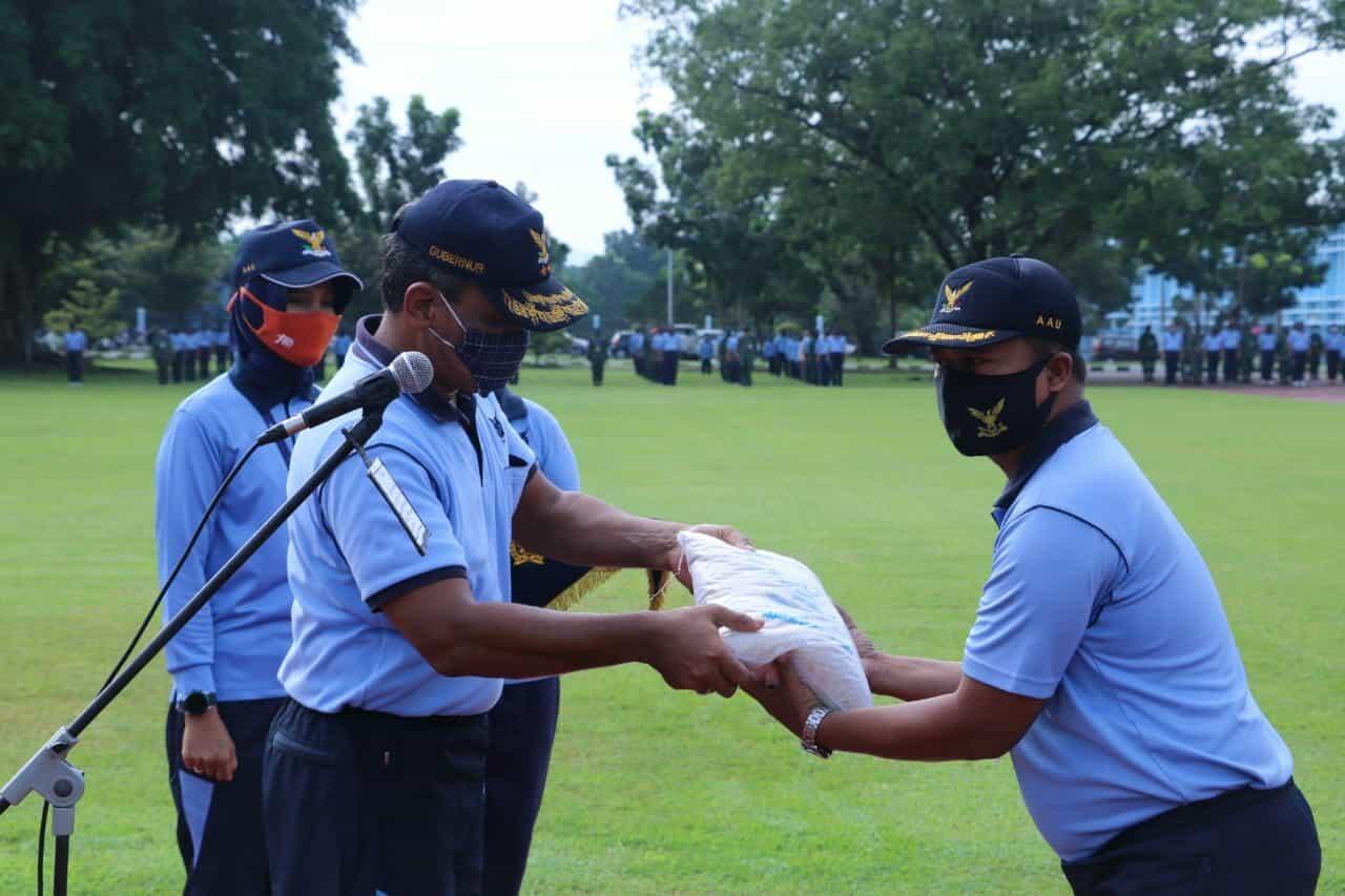 Zakat Fitrah Akademi Angkatan Udara Siap Disalurkan