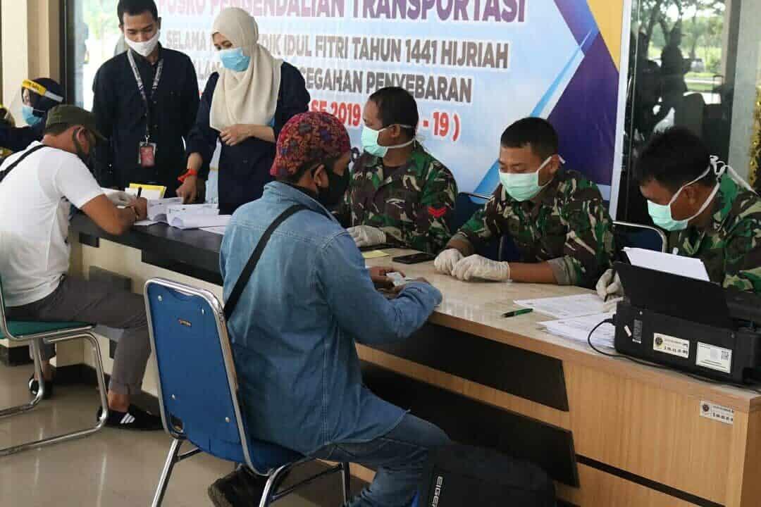 Protokol Kesehatan di Bandara HLO Cegah Covid-19
