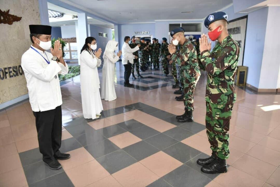 Danlanud Adisutjipto Silaturahmi dengan Siswa Sekolah Penerbang di Hari Raya Idul Fitri