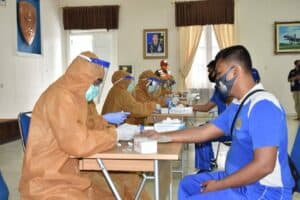 Rapid Test Tahap 2 dilaksanakan bagi seluruh anggota Lanud Adisutjipto