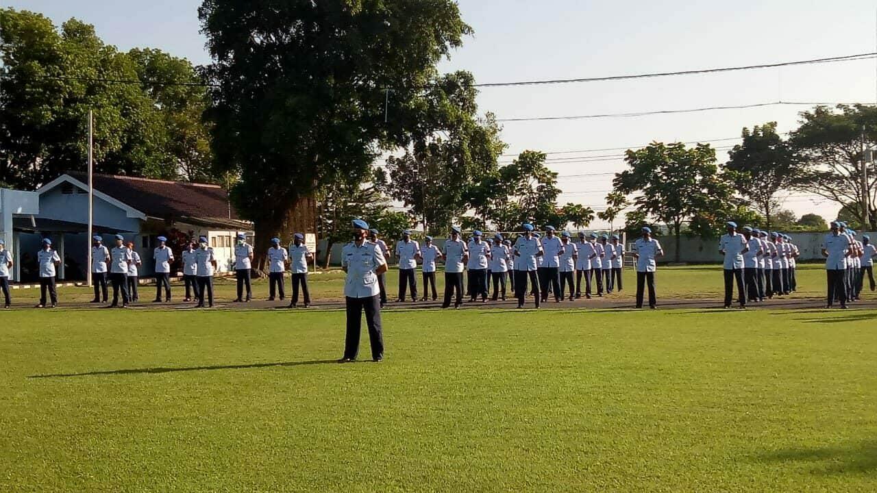 Penutupan Pendidikan Susjurlata Pomau Angkatan ke-44 dan Susjurlata Jasmil Angkatan ke-5 di Skadik 405 Lanud Adi Soemarmo