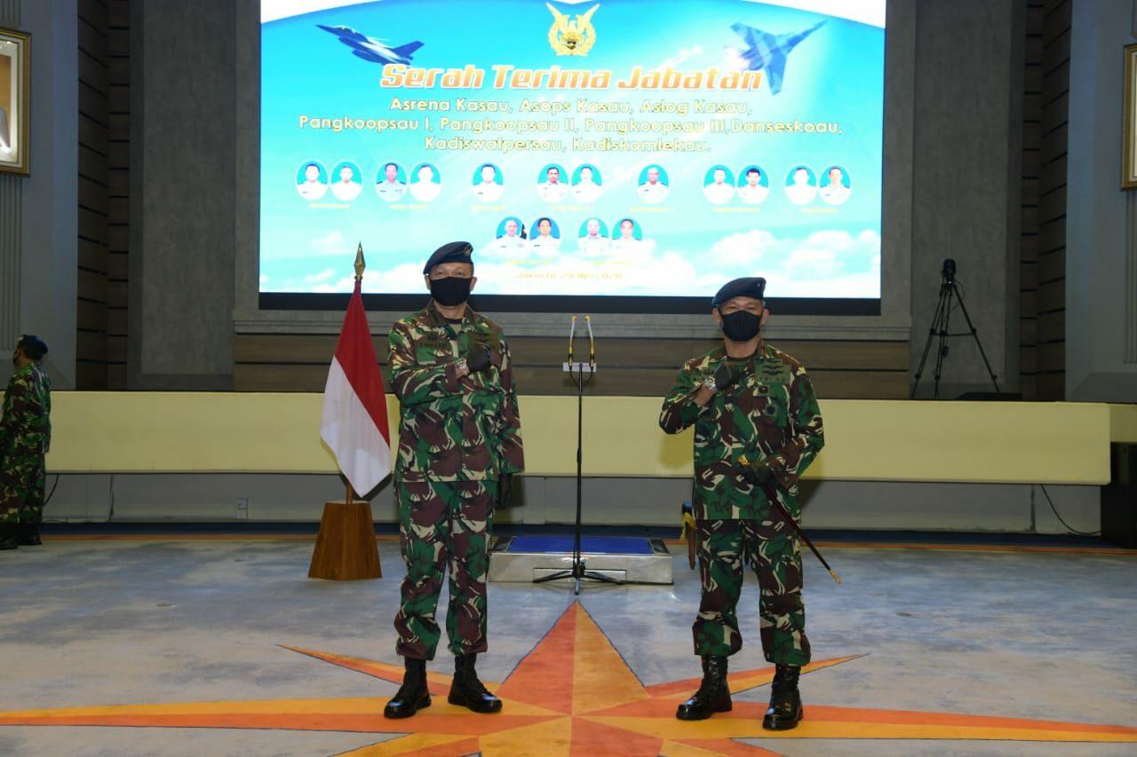 MARSMA TNI MINGGIT TRIBOWO, S.I.P. MENJABAT SEBAGAI PANGKOOPSAU II