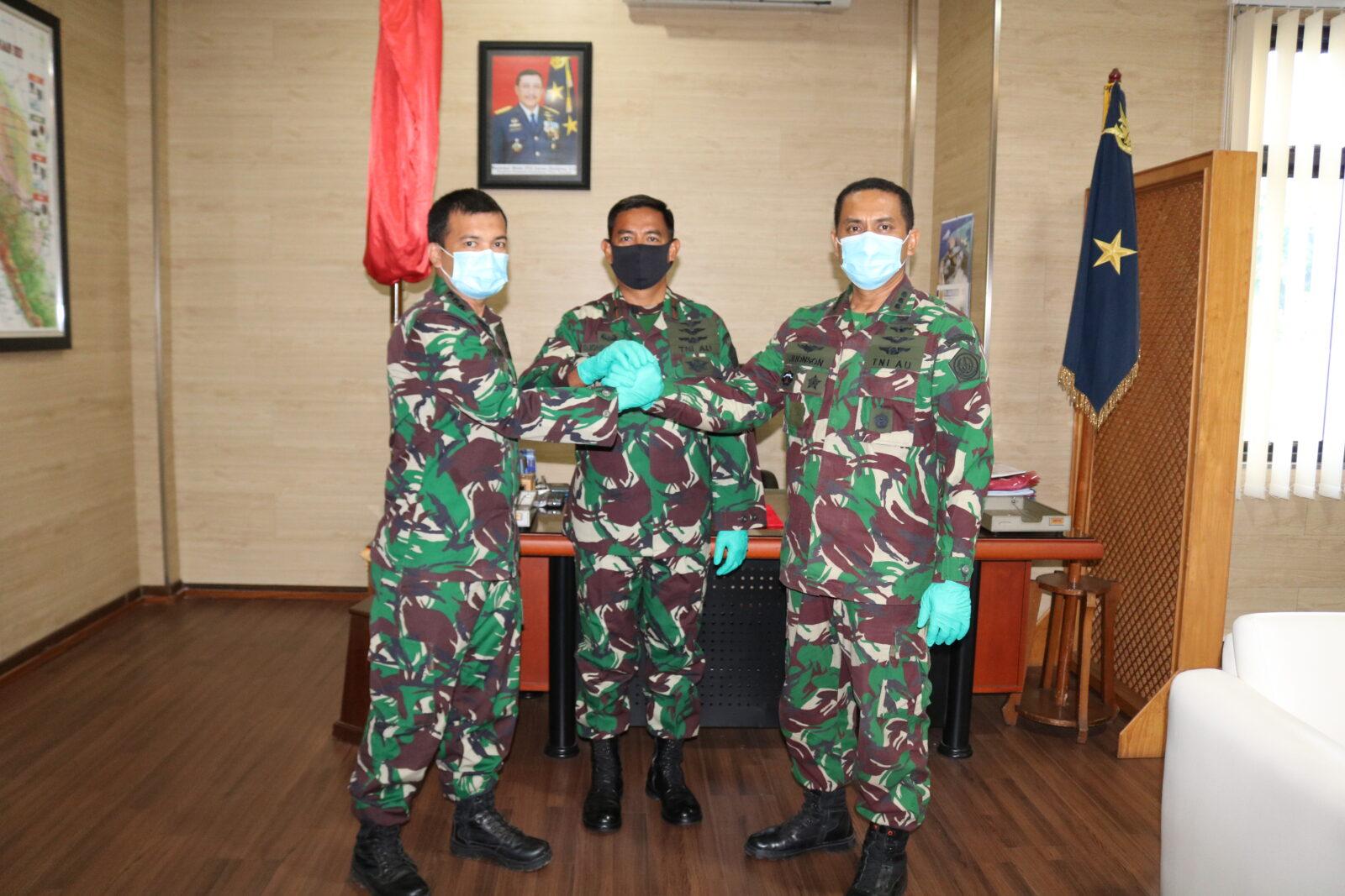 Asisten Operasi Kosekhanudnas III Telah Diserah Terimakan