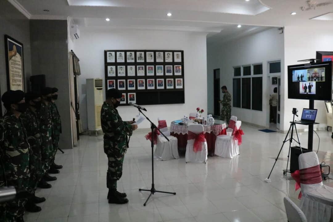 Pangkosekhanudnas II Pimpin Sertijab Dansatrad 221 Ngliyep dan Dansatrad 224 Kwandang