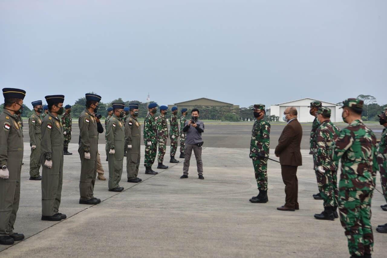 Panglima TNI Lepas Bansos ke Fiji