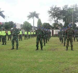 1 SST Personel Lanud Wiriadinata Siap Dukung Program PSBB JABAR