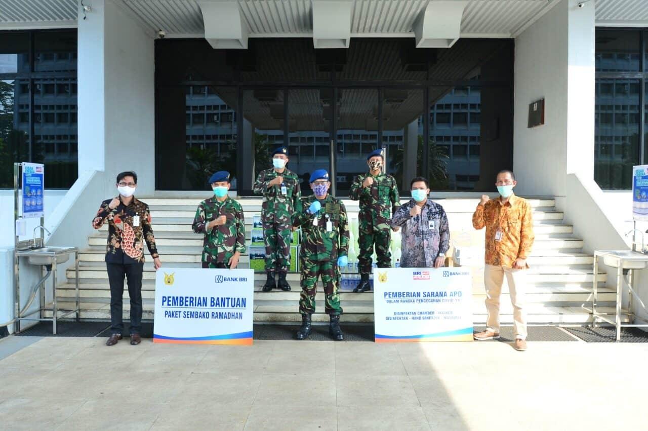 Kerja sama TNI AU dan BRI Melawan Covid-19