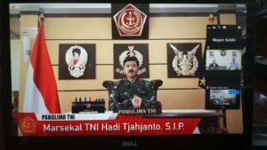 Webinar Kantor Atase Pertahanan KBRI Singapura: Peran TNI dalam Menghadapi Covid-19