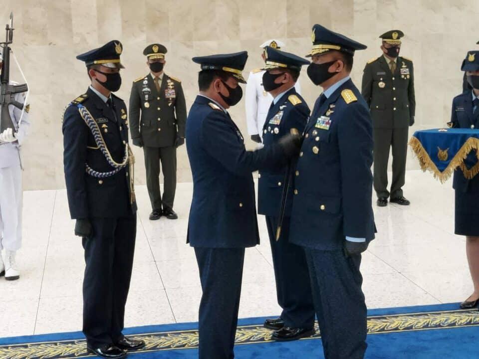 Marsekal TNI Fajar Prasetyo, S.E, M.P.P., Resmi Jabat Kasau.
