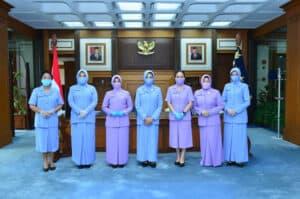Kasau Terima Laporan Kenaikan Pangkat 6 Pati TNI AU