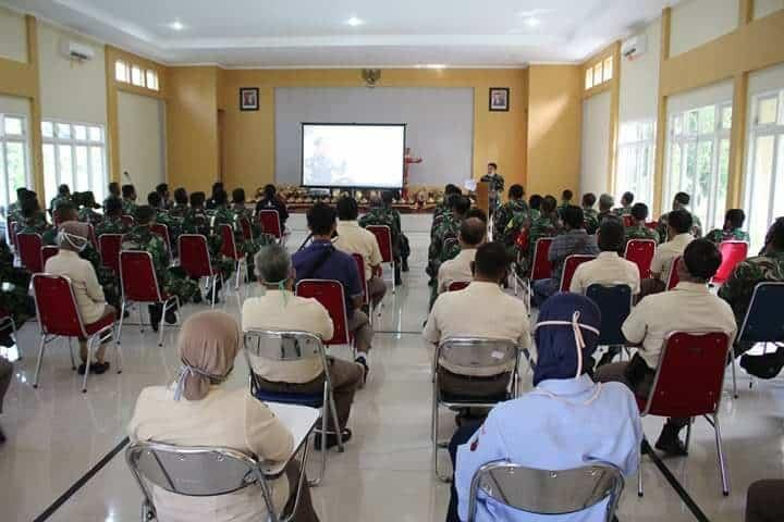 KOMANDAN LANUD J.B. SOEDIRMAN SAMPAIKAN KEGIATAN ENTRY BRIEFING KASAU MARSEKAL TNI FADJAR PRASETYO, S.E., MPP.