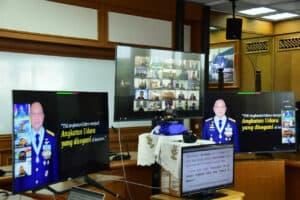 Entry Briefing Kasau, Kasau Bertekad Mewujudkan TNI AU Yang disegani di Kawasan