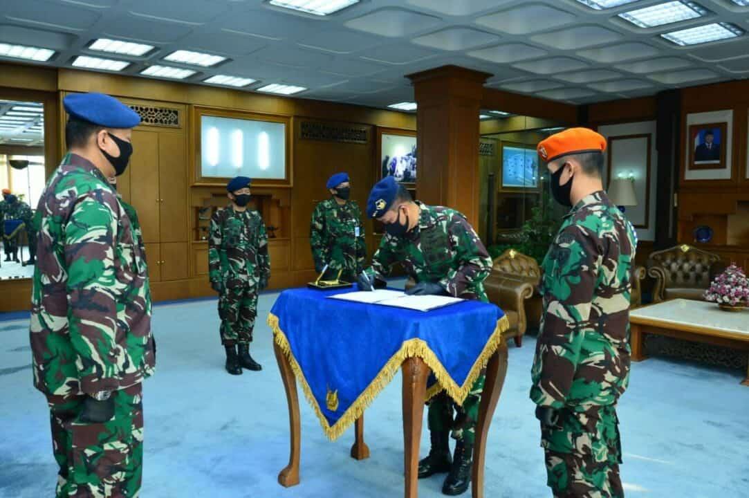 Kasau Lantik Sembilan Pejabat Strategis TNI AU