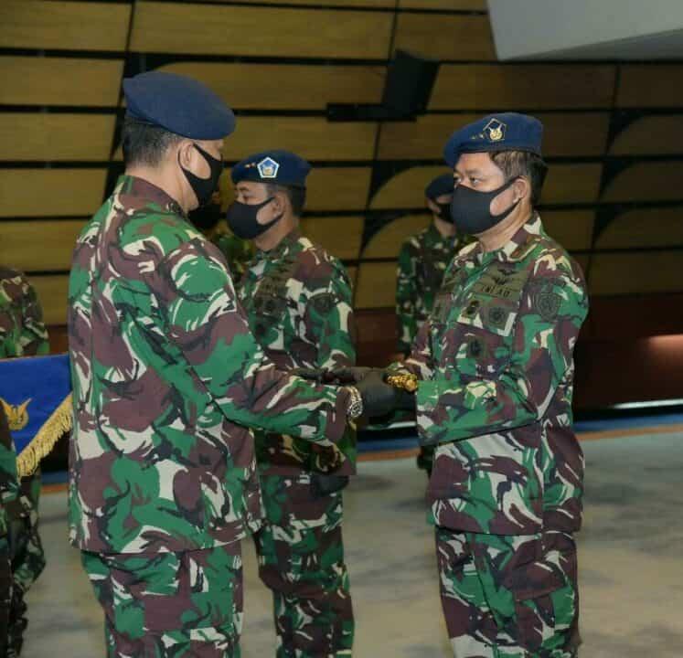 Marsda TNI Ir. Novyan Samyoga Jabat Pangkoopsau III