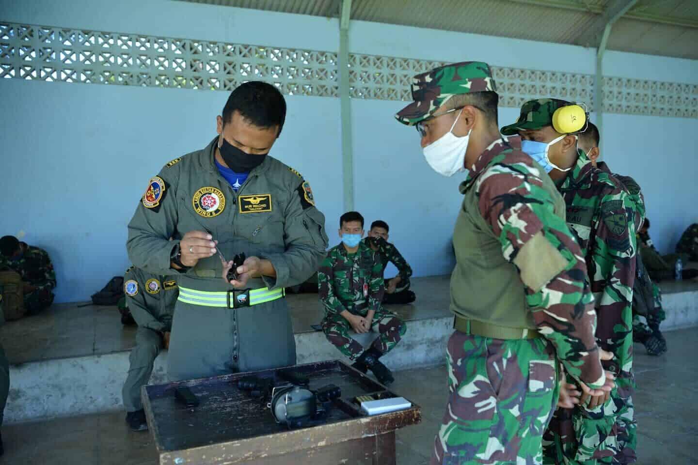 Safety Gun Handling Lanud Sultan Hasanuddin