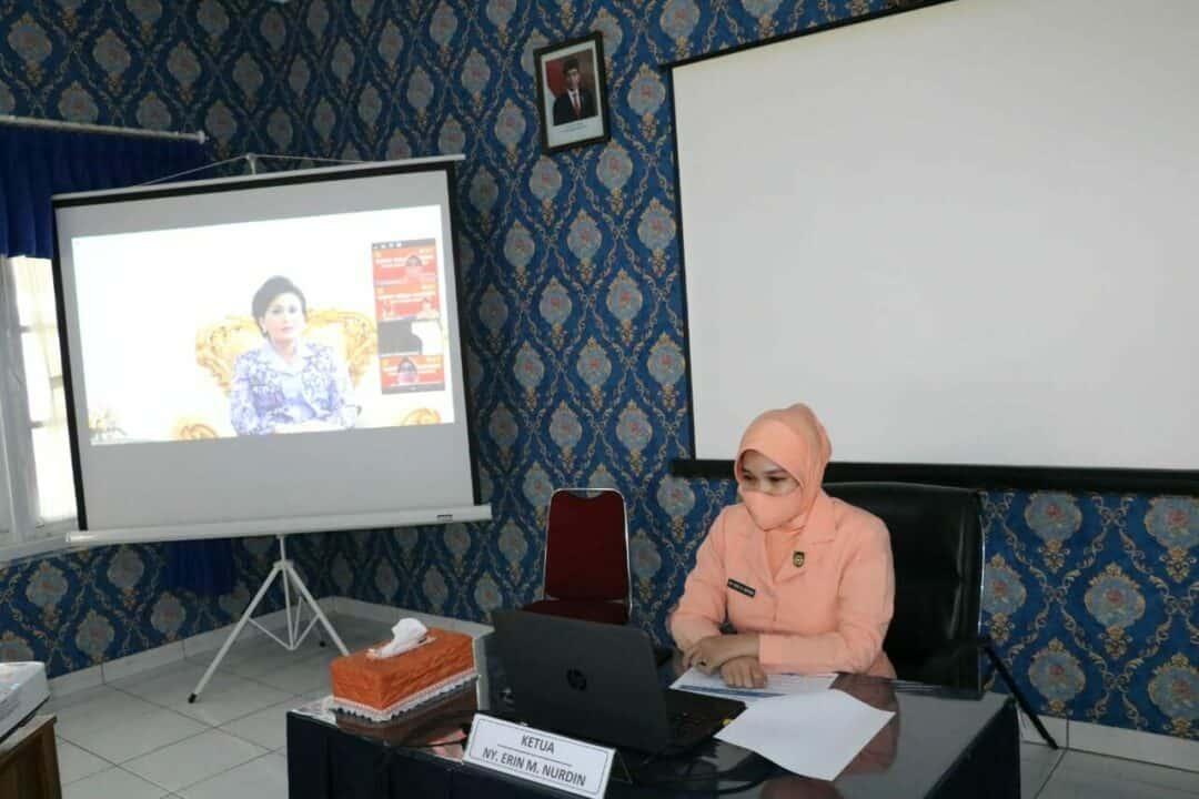 Yasarini Lanud Sulaiman Ikuti Vidcon Rakor Program Peningkatan Mutu Sekolah Angkasa