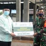 Lanud Wiriadinata Menerima Bantuan Dari Baznas Kota Tasikmalaya