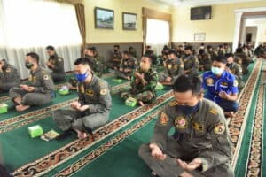 Lanud Rsn Gelar Doa Bersama Atas Accident Pesawat