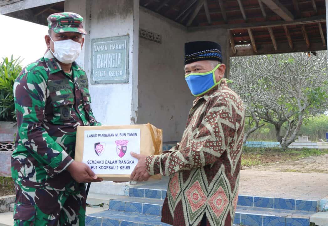 Memperingati HUT Ke-69 Koopsau di Lanud BNY
