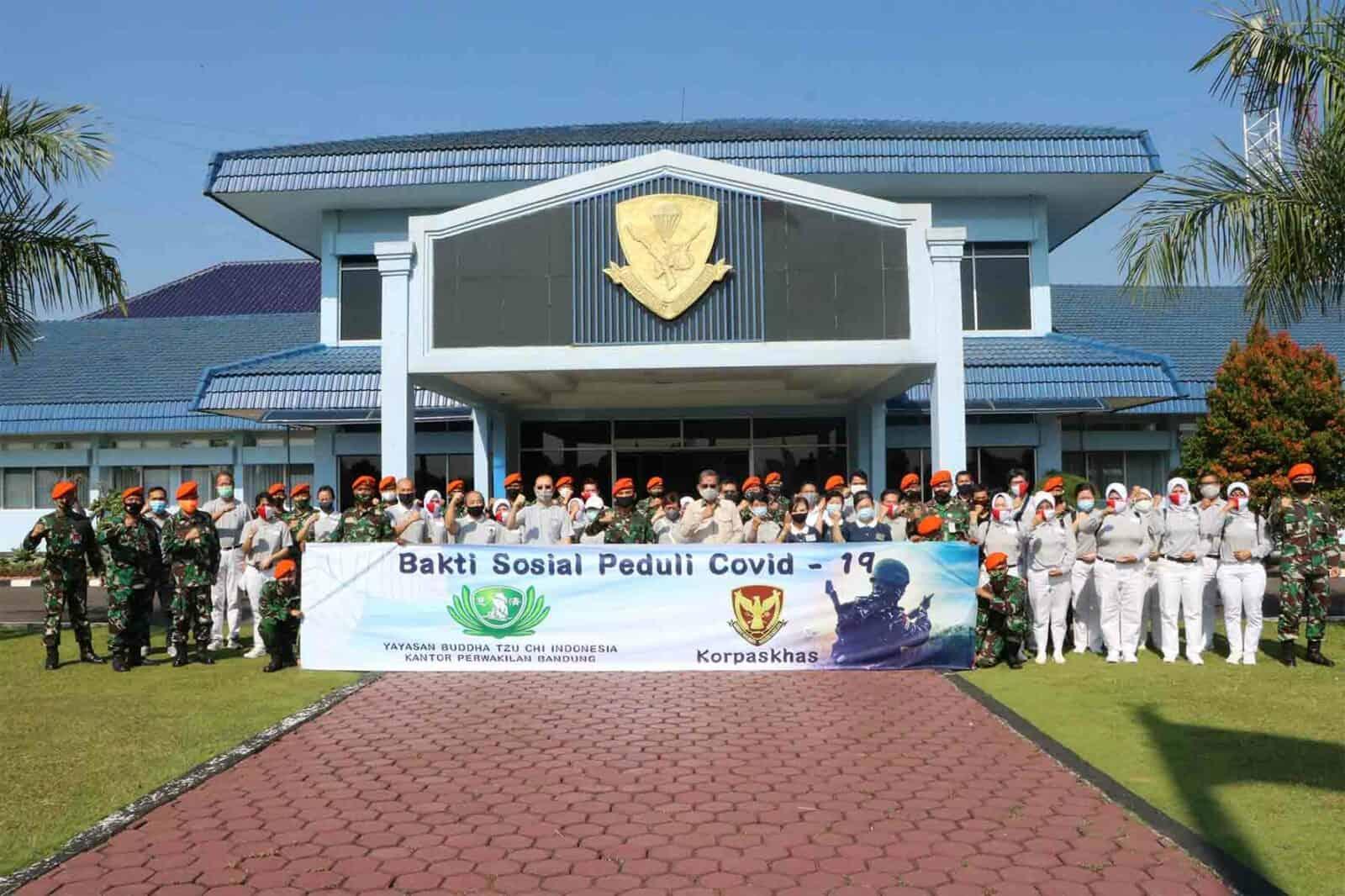 Korpaskhas Bersama Yayasan Buddha Tzu Chi Bagikan Paket Sembako