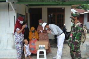 Danlanud Rsn Kembali Salurkan Bantuan Sembako