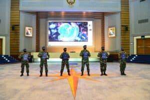 Bertugas Tangani Covid-19, Personel Lanud Halim Terima Penghargaan