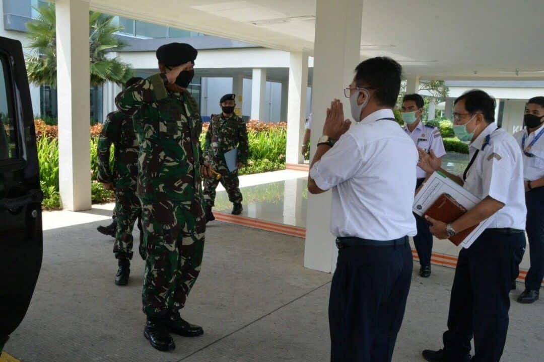 Panglima Kosekhanunas III Kuker Di PT Angkasa Pura II, Airnav Dan Otban Bandara Internasional Kualanamo