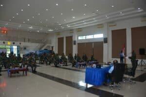 Sosialisasi Pembangunan Zona Integritas di Lanud Supadio