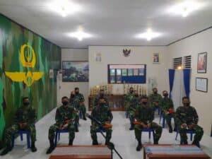 Komandan Wing II Paskhas Memberikan Pembekalan Bagi Casis Pendidikan Karier