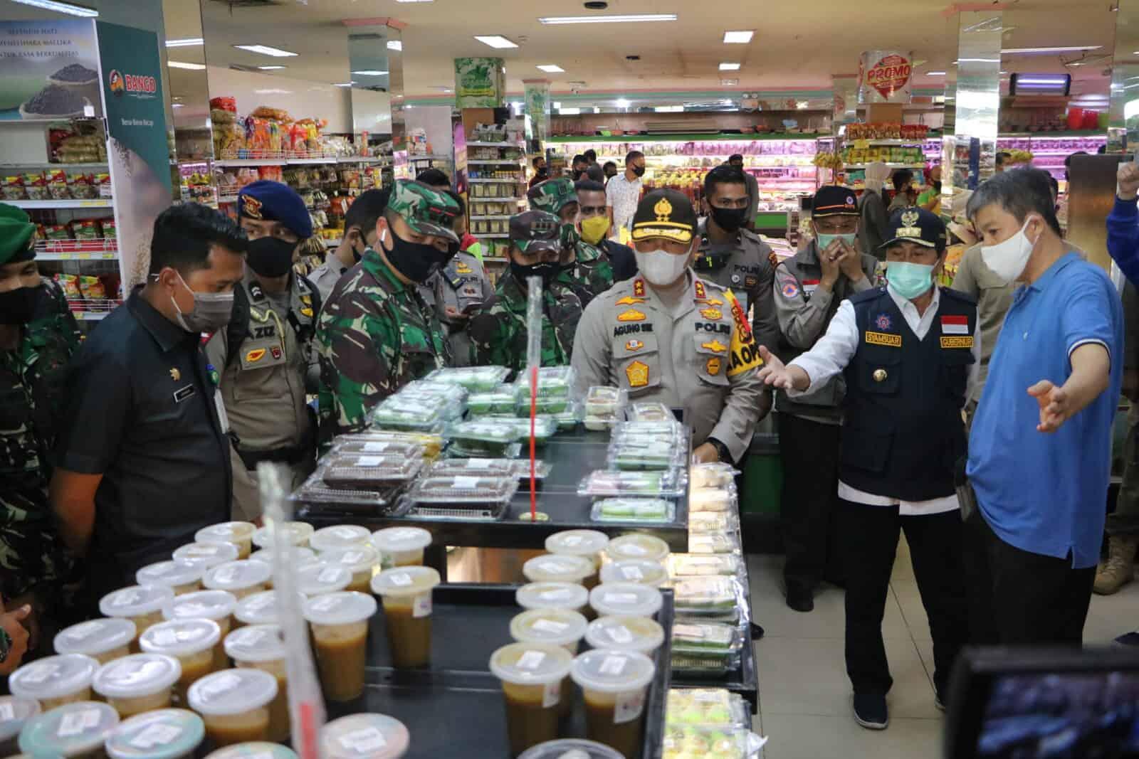 Danlanud Rsn Tinjau Protokol Kesehatan Pencegahan Covid-19 Riau