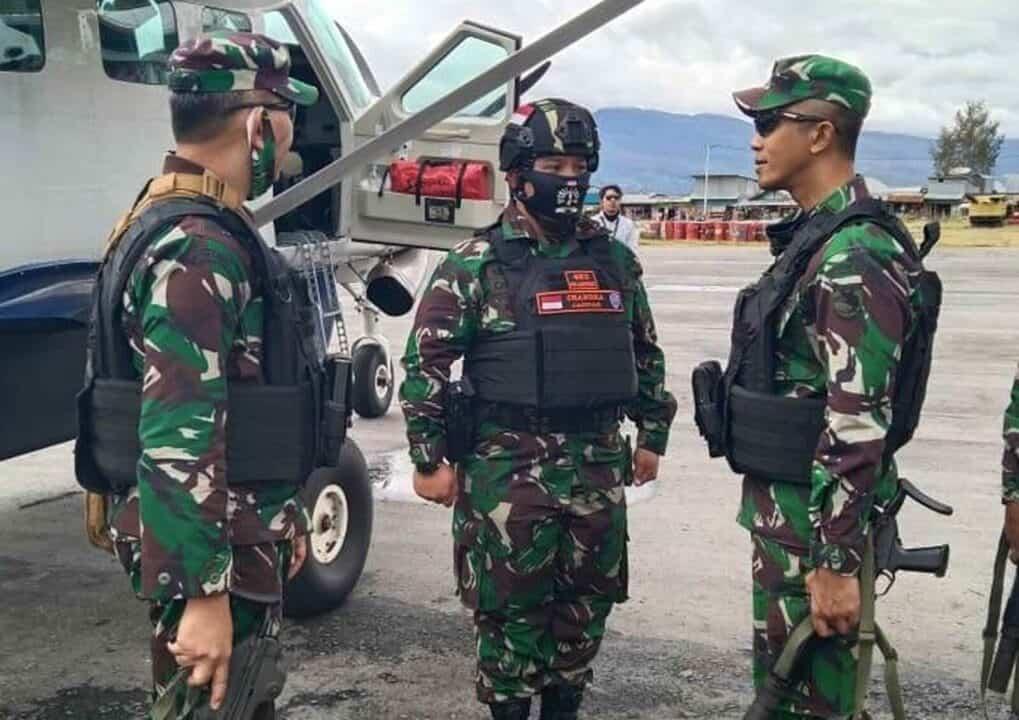 Satgas Paskhas Pos Enarotali Terima Kunjungan Kerja Kasdam XVII/Cendrawasih dan Danrem 173/ PVB