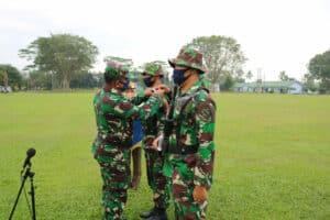 Upacara Pembukaan Latihan Pertahanan Pangkalan di Lanud Bny