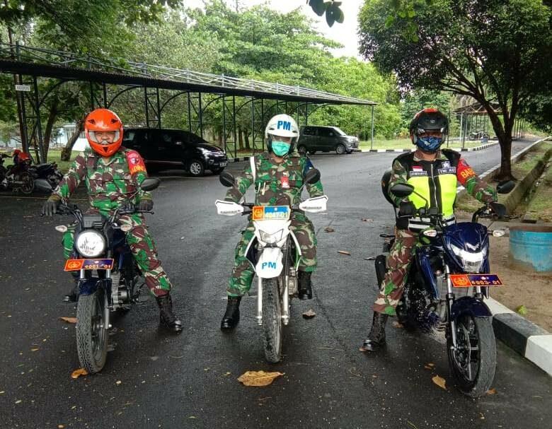 Babinsa Lanud Rsn Laksanakan Patroli Pengamanan Aset