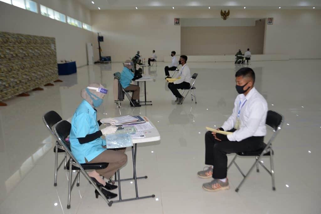 Seleksi Masuk Casis Taruna AAU Tahun 2020 Panda Lanud Abdulrachman Saleh