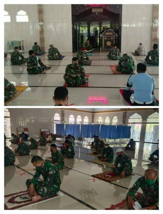 Doa Bersama di Lanud Lanud Sultan Hasanuddin