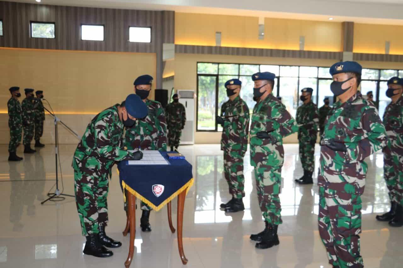 Jabatan Komandan Lanud SWO, SIM dan MUS Diserahterimakan
