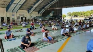 Doa Bersama Seluruh Personel Lanud Iswahjudi