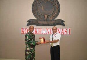 Pangkosekhanudnas I Terima Kunjungan Direktur Safety AIRNAV
