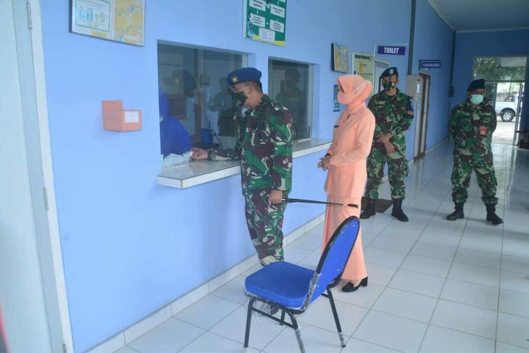 Lanud Sjamsudin Noor Laksanakan Rapid Test Guna Cegah Penyebaran Covid-19