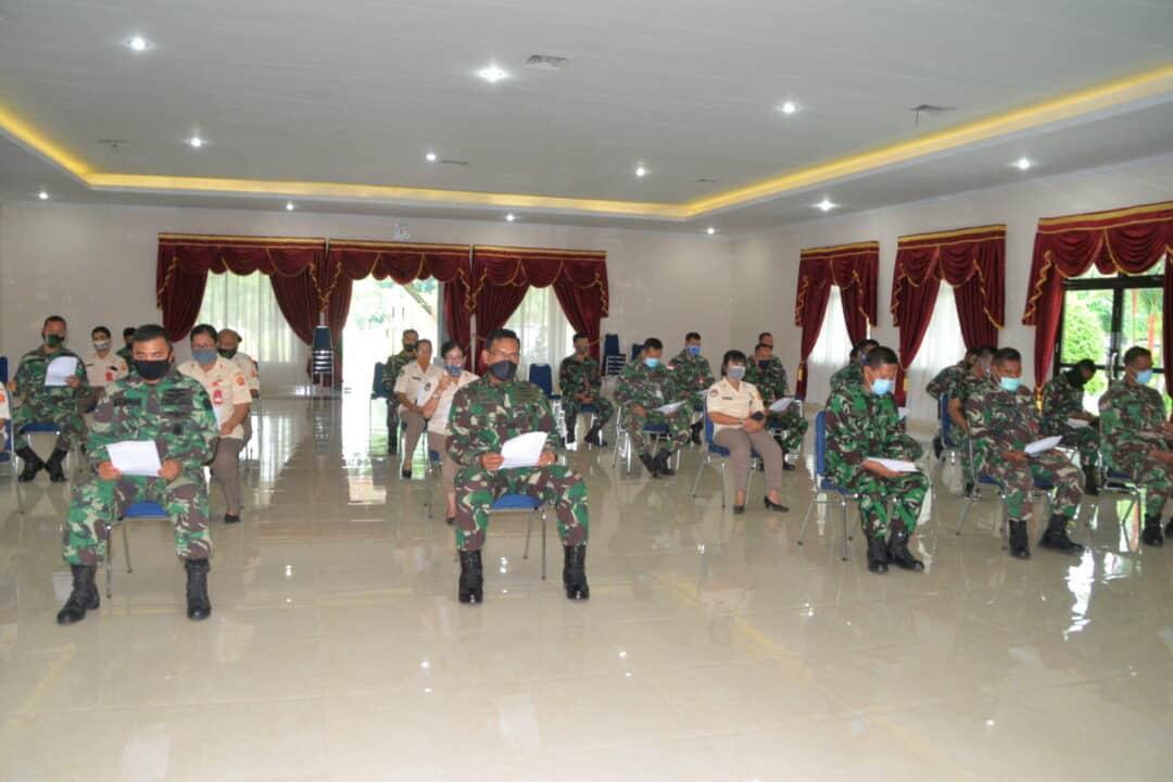 Doa Bersama Dalam Mempercepat Pemulihan Covid-19 dan Keselamatan Terbang Di Jajaran TNI AU