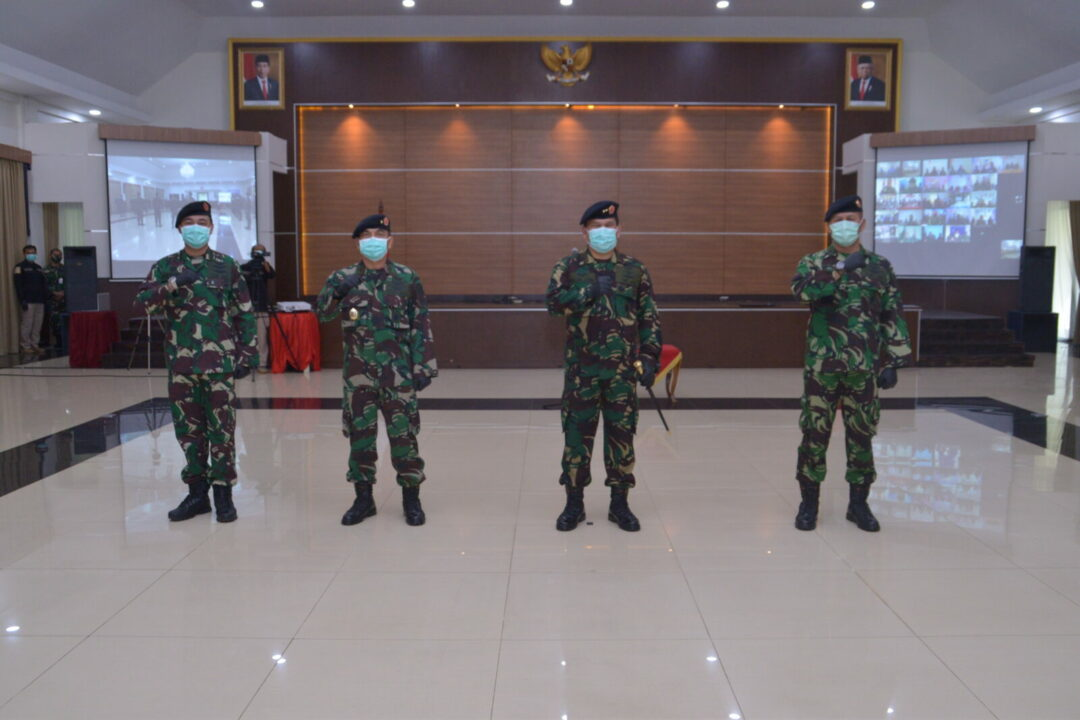 Pangkohanudnas Pimpin Serah Terima Jabatan Kepala Staf Kohanudnas dan Penyerahan Jabatan Asisten Operasi Kaskohanudnas