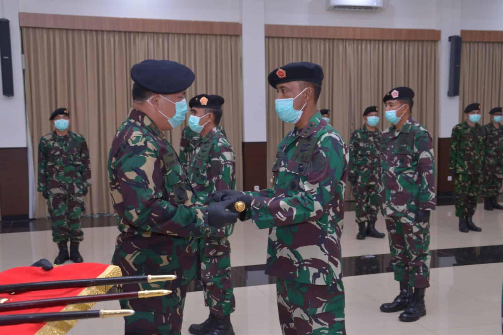Jabatan Pangkosekhanudnas I,II,III, dan IV Diserahterimakan