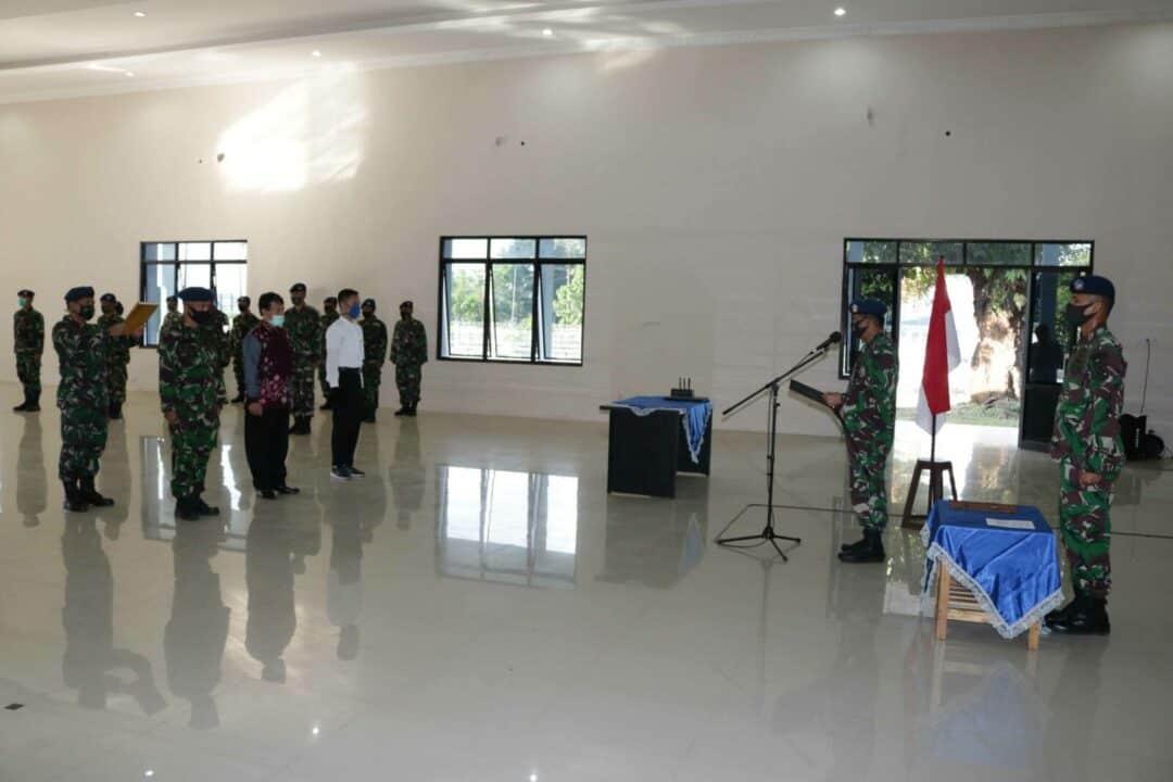 Penandatanganan Pakta Integritas Rekrutmen Casis Taruna Akademi Angkatan Udara Tahun 2020 di Lanud Sjamsudin Noor