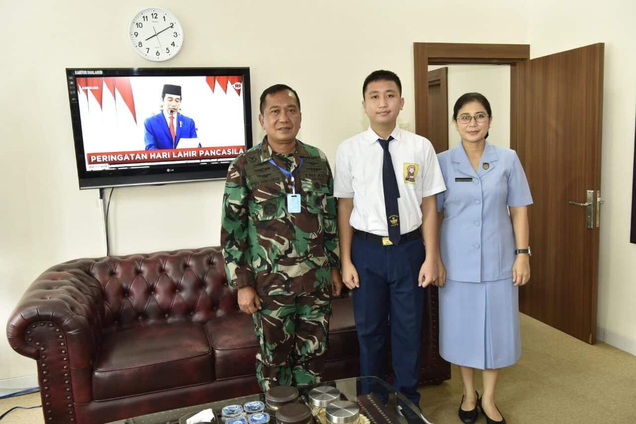 Komandan Lanud Adisutjipto beserta staf jajaran ikuti kegiatan Hari Lahir Pancasila