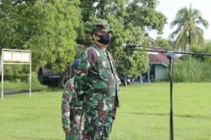 Danlanud Sam Ratulangi Pimpin Apel Khusus New Normal