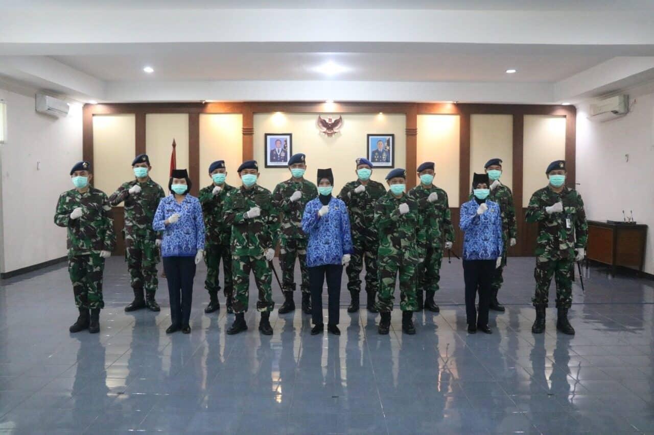 Danlanud Ats Pimpin Pelantikan dan Penyumpahan Pegawai Negeri Sipil
